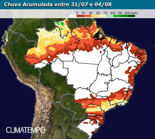 Precipitações Climatempo