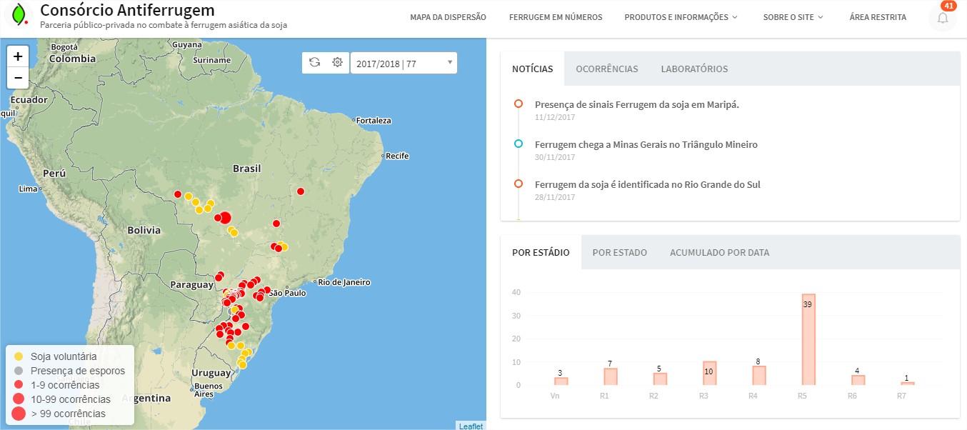 Soja  Preocupações são pontuais e Brasil deve colher safra cheia na ... 639a41d0a1914
