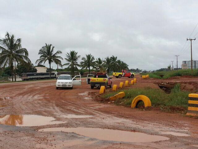 Protesto Lucas do Rio Verde (MT), BR-163