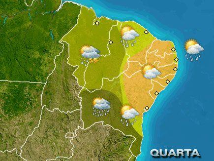 Previsão do tempo para Minas Gerais nesta terça-feira, 30 de janeiro