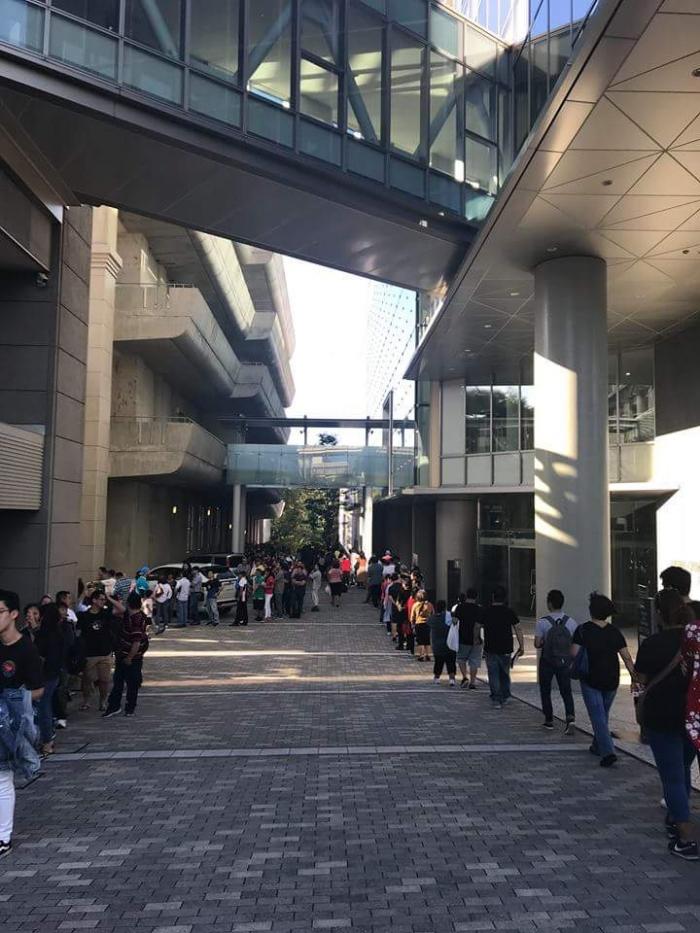 Votação em Nagoia - Japão