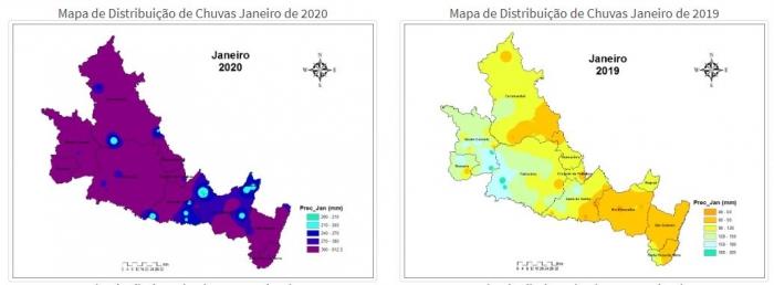 Chuvas Cerrado Mineiro - Jan