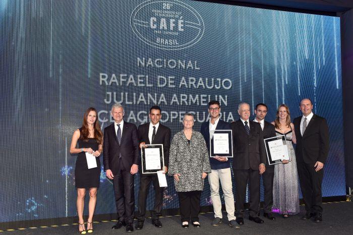 Vencedores da 26ª Edição do Prêmio Ernesto Illy - Foto: Divulgação