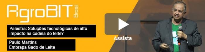Botão - Palestra de Paulo Martins - Diretor-Geral da Embrapa Gado de Leite - AgroBit 2019