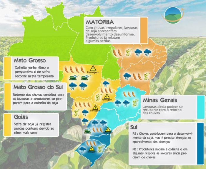 Mapa Soja - Safra 2016/17