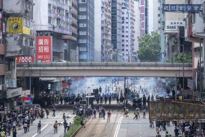 Protestos em Hong Kong 24 de maio